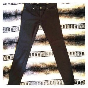 Hurley skinny leggings jeans black size 28